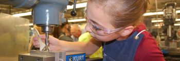 Expands manufacturing summer programs for middle school students