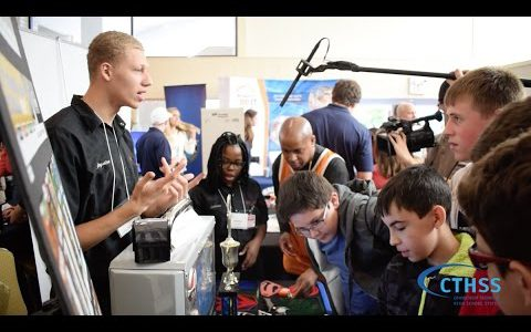Connecticut Technical High School System At Manufacturing Mania