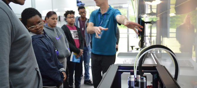 CCAT & Goodwin College Come To Synergy Alternative High School