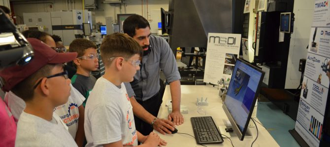 Young Manufacturers Learn To Code at CCAT