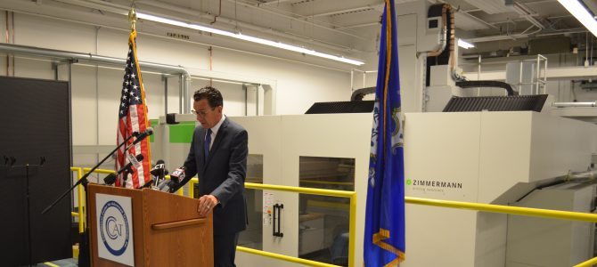 Governor Malloy emphasizes economic development