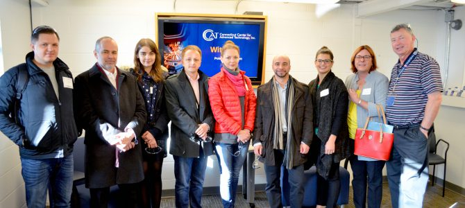 CCAT Hosts Polish Delegation