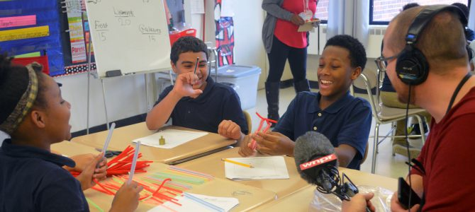 WNPR Visits CT Dream It Do It Program at Simpson-Waverly School