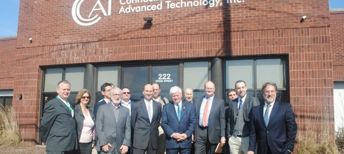 CCAT joins Congressman, Manufacturers to Mark Extension of Federal Fuel Cell Tax Credit