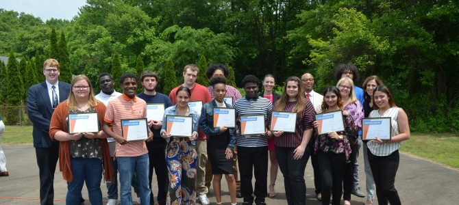 Synergy High School Students Celebrate Pre-Apprenticeship Completion