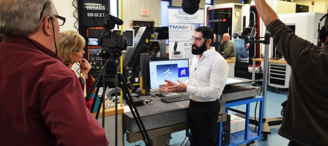 CPTV featuring CCAT Advanced Manufacturing Center engineer