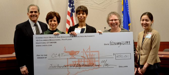 Youth manufacturing education opportunities grow under CHEFA grant; CCAT selected to expand into New London, Bridgeport