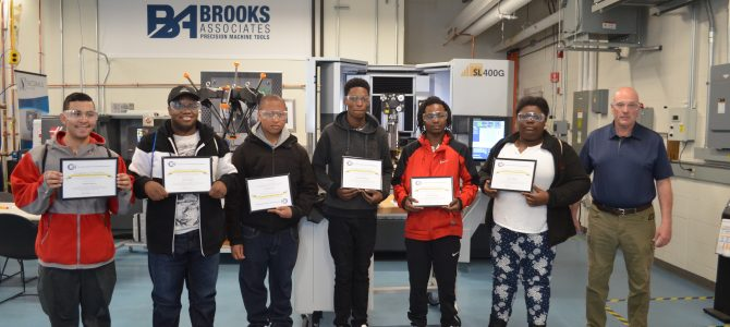 Six students complete hands on, on the job training at CCAT's AMC