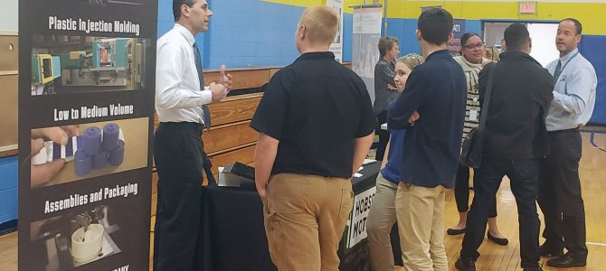 Manufacturing Expo & Career Fair Attracts Students and Job Seekers